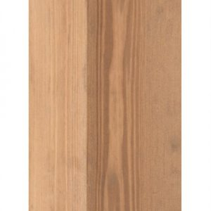 Holzpfosten Kiefer quadratisch, gebeizt, 7 x 7 x 150