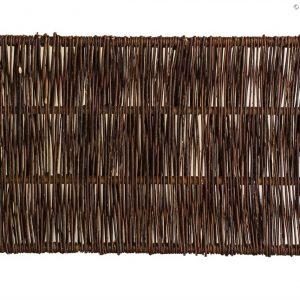 Weidenzaun CAMBO, senkrecht geflochten, 150 x 60